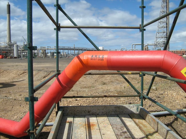 Petro Chemical Fire Mains